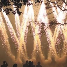 Alchemy Wedding Fireworks