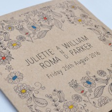 Eco Wedding Stationery